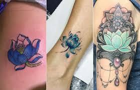 lotus flower tattoo ideas 1 blue lotus