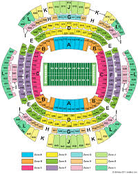 Seating Chart Superdome New Orleans Mercedes Benz Superdome Tickets Mercedes Benz Superdome
