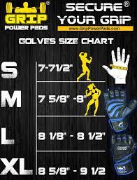 Versa Gripps Pro Size Chart Grip Power Pads Elite Gym Gloves W Wrist Support