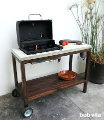 outdoor prep station outdoor kitchen how to build a grill cart outdoor prep station canada