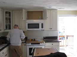 Hood Range Installation How To Install A Vented Microwave Oven