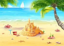 Pin On Beach Summer Backdrop