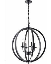 black metal chandelier. Carbon Loft Bidwell Antique Black Metal Orb 4-light Chandelier (Antique Black, C