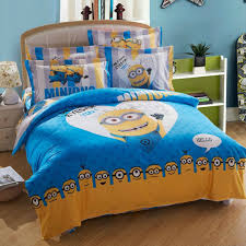 minion bed set queen king twin size available the colors are really sharp clear the