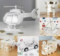 image is loading personalised end silver money box christening gift baptism
