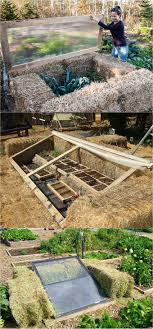 these are very easy cold frames to build so simple and so ingenious straw bales hold the heat as walls that need no tools to construct just add windows