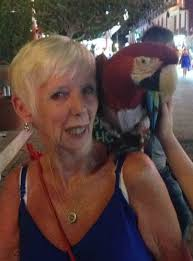 mary holt with parrot - Free Spirit