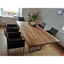 Esstisch Metro Walnuss Edelstahl Luanna Design Möbel Tische