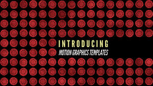 Adobe Is Introducing Motion Graphics For Beginners And