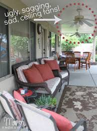 sagging outdoor ceiling fans