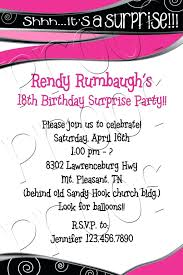 template 18 birthday invitation template awesome th wording free printable with great to 18th card