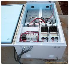 1 kw flight path warning light solar battery system advanced energy inverter system