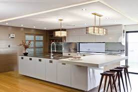 Japanese Kitchen Expansive Japanese Kitchen Designs With Extended Kitchen Table And