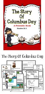 Columbus Day A Printable Book For