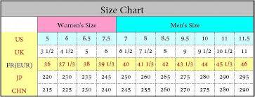 Yeezy Boost 350 Uk Size Chart