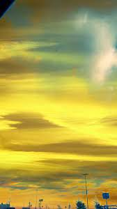 Light Yellow Aesthetic Clouds