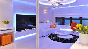 Modern Living Rooms And Technology For It Homemajestic Family Room - Futuristic home interior
