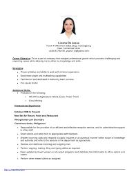 Job Resume Builder Sample Career Objective For Resume Lovely Career Objective Resume 84