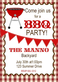 Best Solutions For Bbq Picnic Invitation Template Free Also Job ...