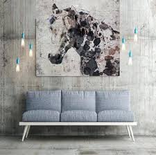 >unique wall art decor extra large horse unique horse wall decor  unique wall art decor extra large horse unique horse wall decor brown rustic horse large contemporary