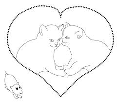 Honden I Love You Kleurplaat Kleurplaat Hart Valentijn Moederdag