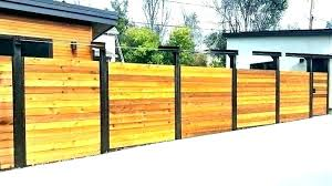 Horizontal wood fence gate Modern Contemporary Wood Fence Mid Century Modern Fence Acy Wood Metal Designs Horizontal Wood Fence Designs Modern Evantbyrneinfo Contemporary Wood Fence View In Gallery Modern Wood Fence Gate