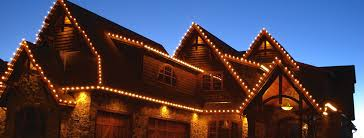 Huntington Home Led Icicle Lights Calgary Landscaping Company Assiniboine Lights Landscapes