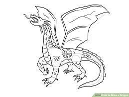 image led draw a dragon step 14