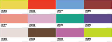 Fashion Colour Chart Pantone Spring 2018 Colour Conversion Chart Colour With