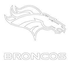 Small Picture Broncos Coloring Pages Best Coloring Pages adresebitkiselcom