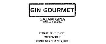 Gin Gourmet- Sajam hrvatskog gina, rakija i likera