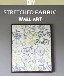 diy framed art inspirational best 25 fabric wall ideas on