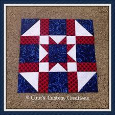 380 best Patriotic quilts images on Pinterest   Sewing, DIY and Books & Army Star Quilt Block Adamdwight.com
