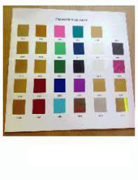 Kurz Foil Chart Kurz Foil Colors Pictures To Pin On
