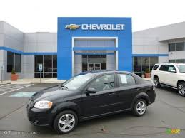 2010 Black Granite Chevrolet Aveo LT Sedan #92138339 | GTCarLot ...