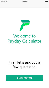 payday calculator 2018 payday calculator on the app store