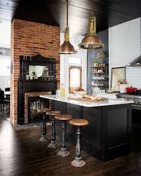 industrial kitchen lighting. 19 Times A Painted Ceiling Changed Everything Industrial Kitchen Lighting L