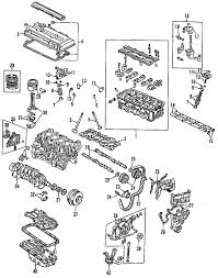 parts com® honda lost motion assy partnumber 14820pcb305 1996 honda civic del sol vtec l4 1 6 liter gas cylinder head valves