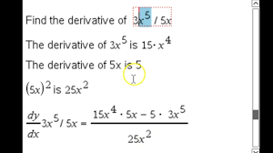 Derivatives Part 4 More Derivative Rules Common