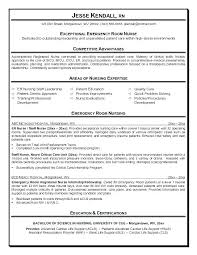 Resume Template Sample Charge Nurse Resume Free Career Resume