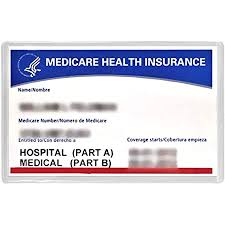 Your card lets healthcare providers know whether you have medicare part a (hospital) or part b (medical) or both, and the starting date of your coverage. Amazon Com 5 New Medicare Card Holders Protector Sleeves Clear 6mil Office Products