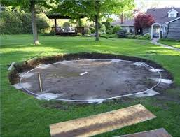 Salt water pool above ground 28 Foot Can You Fix An Off Level Above Groiund Pool Inyopoolscom Off Level