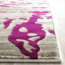plum and cream rug increasetraffic co pink area
