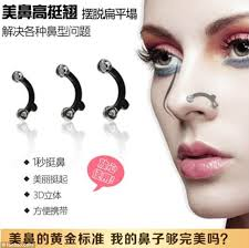 one adver using a western model asked the public is your nose perfect