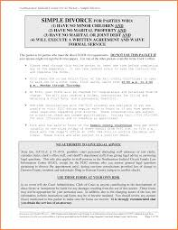 Examples Of Divorce Papers Sample Divorce Paper Cityesporaco 4