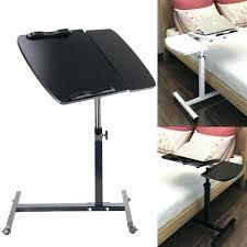 slide under tv tray sofa table adjule portable laptop stand lap bed folding computer desk desks