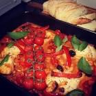 baked italian style fish