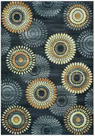 soro soft rectangular area rug 3 3 x 5 3 grey black tan brown khaki modern