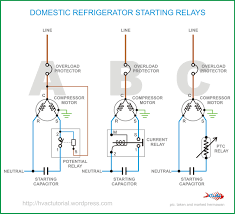 copeland potential relay wiring diagram run capicator for domestic refrigerator starting relays hermawan s blog