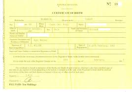 Fake Birth Certificate Template Free Download